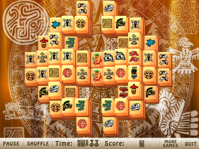 Click to view Ancient Free Mahjong 1.0 screenshot